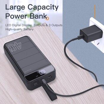 Внешний аккумулятор KUULAA Power Bank 40000 мАч 5
