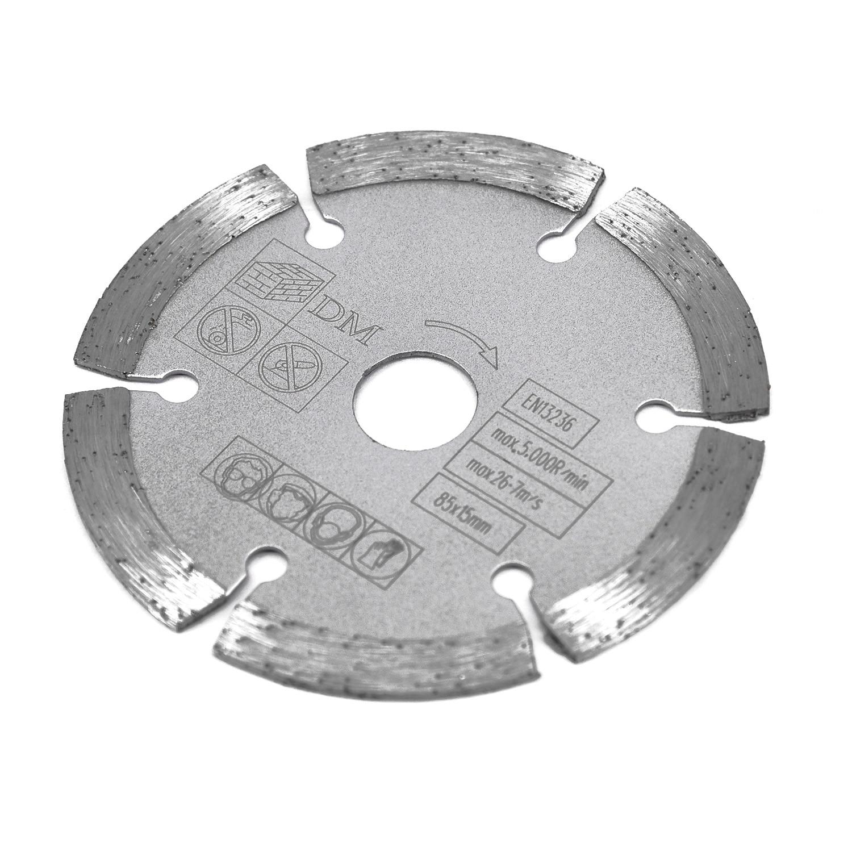 85mm 15mm Bore Diamond Segmented Circular Saw Blade Tool For Makita Bosch Worx