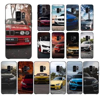 Blue Red Car For Bmw Phone Case For Samsung A10 20 30 40 50 01 11 31 51 71 S pLUS Case image