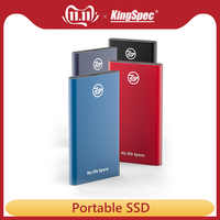 KingSpec Portable SSD 120GB 240gb ssd 1TB hdd External SSD Type C USB3.1 500gb Externe Festplatte Hard Drive Disk for laptop pc