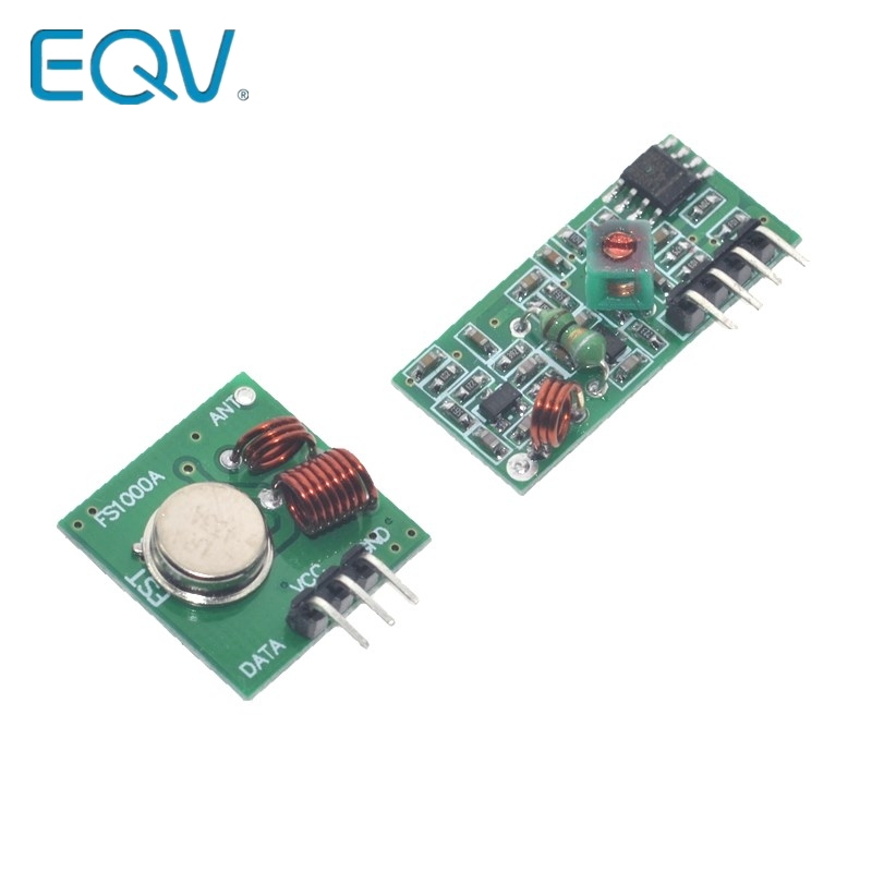 315 МГц/433 МГц стандартный модуль для Arduino/arm/mcu Wl Diy 315 МГц/433 МГц беспроводной