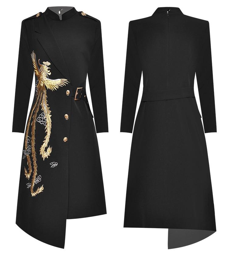 irregular fino elegante vestido
