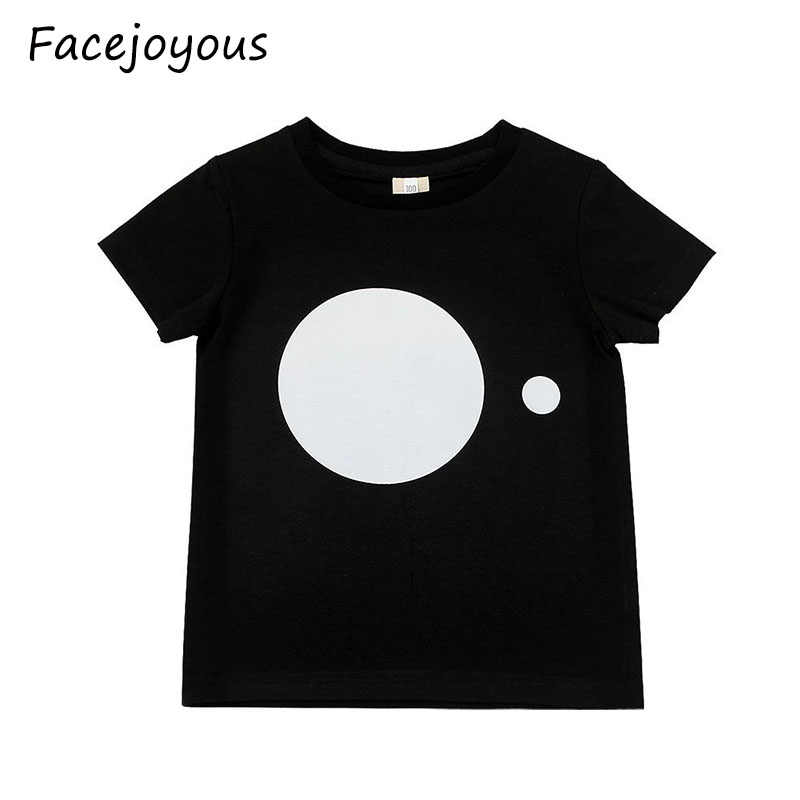 2020 New Fashion Toddler Kids Boys Summer T-shirt Girls Short Sleeve T Shirt Children Cute Tops Tee 1-8 Year