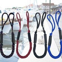 Cordes de navigation de haute résistance corde d'amarrage ligne de port attache d'ancrage pour Rafting bateau à moteur Kayak ponton accessoires de bateau à rames