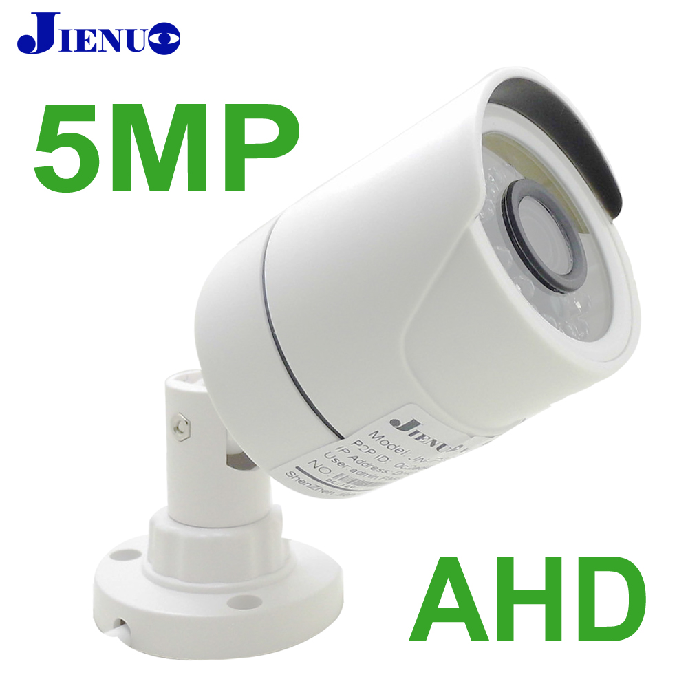 JIENUO AHD Camera 720P 1080P 4MP 5MP HD Security Surveillance High Definition Outdoor Waterproof CCTV Infrared Night Vision Home