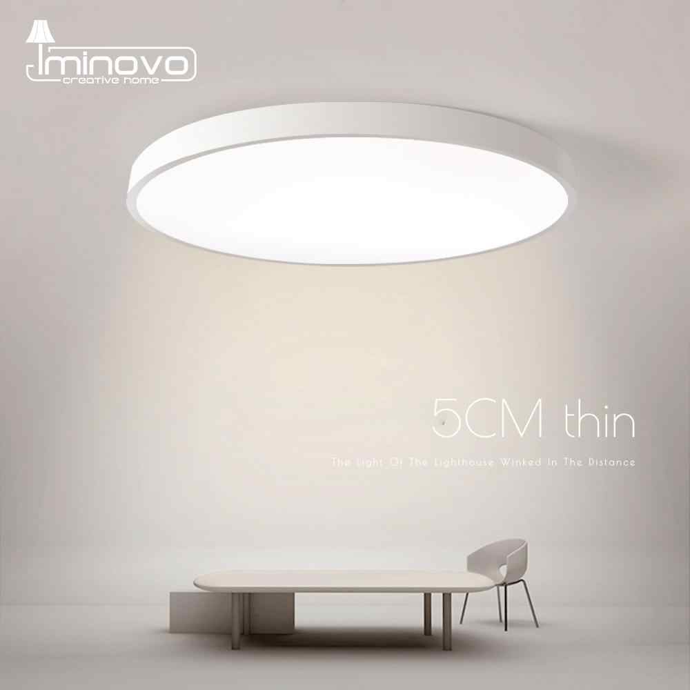 LED Ceiling Light Lamp Modern Lighting Fixture Bedroom Kitchen Foyer Simple Surface Mount Flush Panel Living Room Remote Control