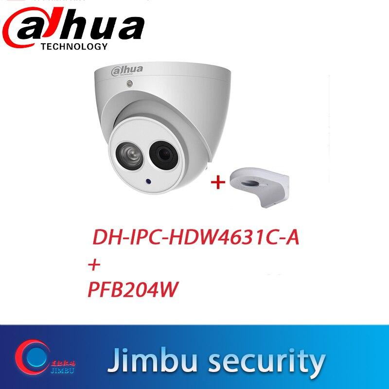 大華 POE 6 メガピクセル IP カメラ IPC HDW4631C A H.265 6MP CCTV ドーム精神セキュリティカメラ内蔵マイク ONVIF と brPFB204W ホット  グループ上の セキュリティ & プロテクション からの 監視カメラ の中 1
