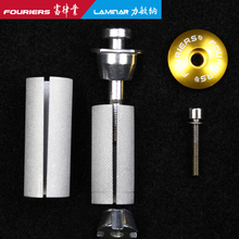 Fouriers stop alluminum zestaw słuchawkowy Expander Plug Stem Top Cap dla 28 6mm 1 1 8 #8222 Steerer widelec węglowy zestawy słuchawkowe rower expander tanie tanio 50MM Alluminum alloy Other HA-S005