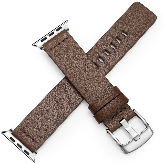 Genuine Leather Band for Apple Watch 3