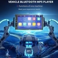 Car MP5 Player 7 Inch High Definition USB Bluetooth Audio Car Radio Touch Screen Stereo Radio #BL30