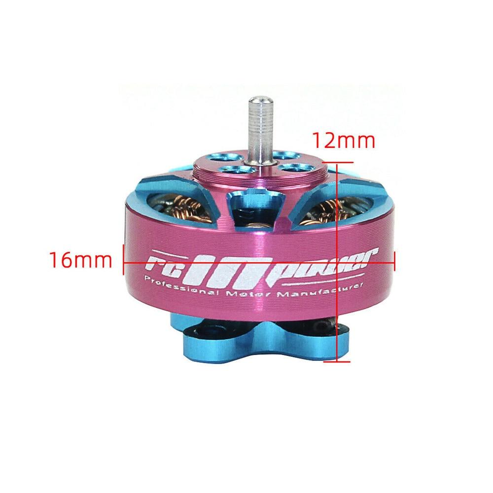 4pcs RCINPOWER Brushless Motor GTS 1204 V2 5000KV 3-4S Motor for RC Drone FPV Model Multirotor Parts Accessories (4pcs Pink 5000kv)
