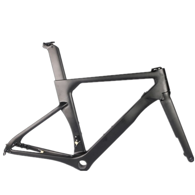 2020 New AEROSIX Carbon Disc Road Frame Disc Brake Bicycle Frame Fork Seatpost With 5D Carbon Handlebar