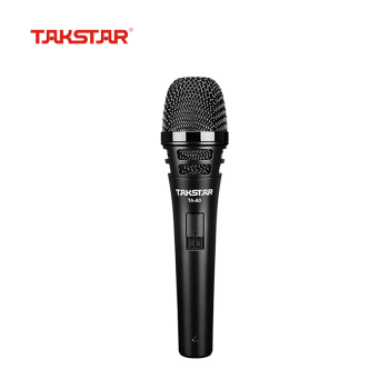 TAKSTAR TA-60 On-stage Dynamic Vocal Microphone Handheld Microphone for Stage Show Wedding Karaoke Singing