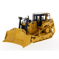 Diecast Masters #85566 1/50 Scale Caterpillar D8T Track Type Tractor Dozer with 8U Blade Vehicle CAT Engineering Model Cars Toy