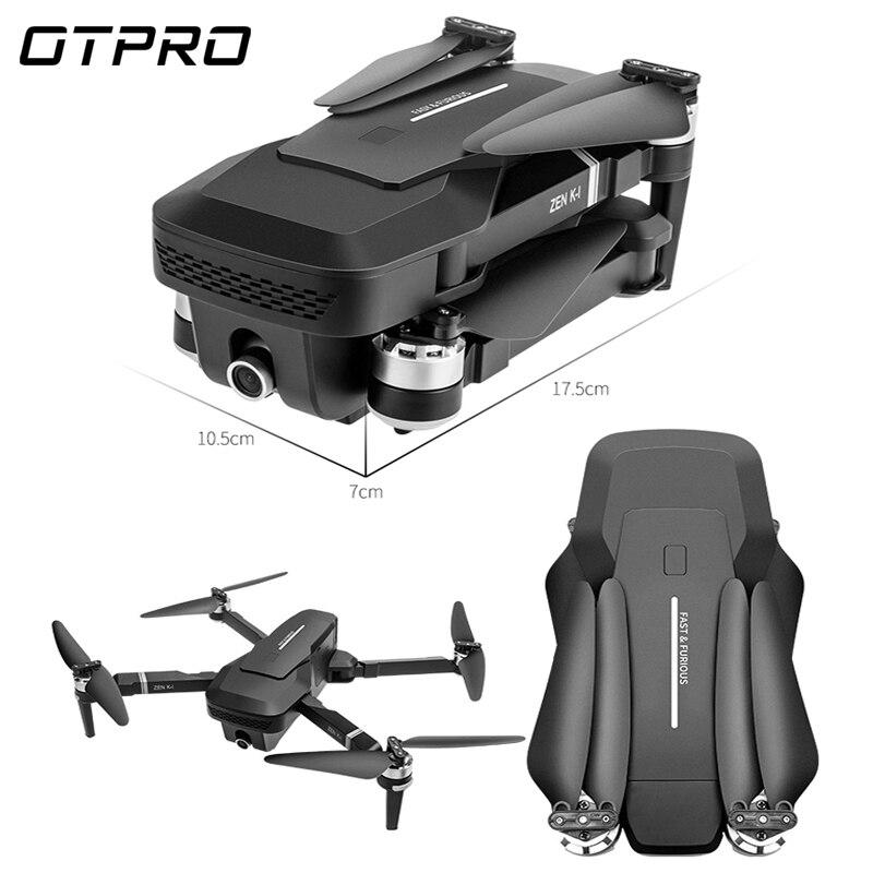 OTPRO DRONE quadrirotor avec 1080P Wifi GPS 5MP caméra moteur sans brosse hélicoptère Retorno Auto RC drones 4k mini dron vs SG906 - 5