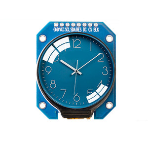 DC 3.3V 1.28 inch TFT LCD Display Module Round RGB 240*240 GC9A01 Driver 4 Wire SPI Interface 240x240 Resolution adapter PCB