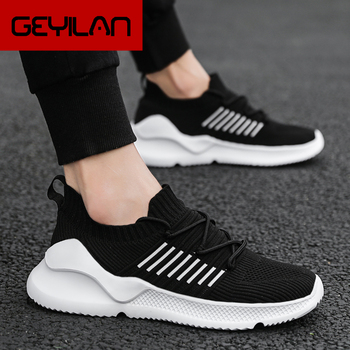 Men Casual Shoes Brand Men Shoes Men Sneakers Male Flats Slip On Mesh Loafers Breathable Big Size 45 46 Spring Autumn