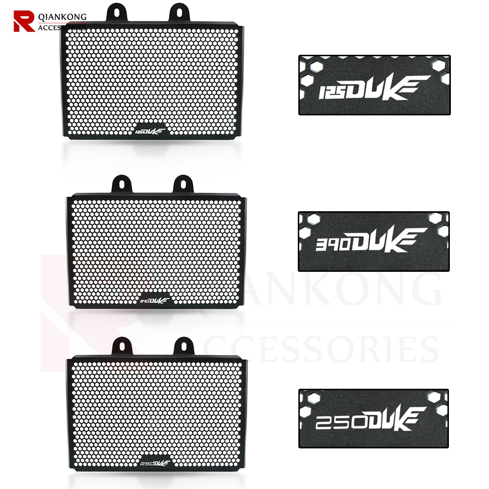 For KTM 125 Duke 250 Duke 300 Duke 2017-2019 Motorcycle Accessories Radiator Guard Protector Grille Grill Cover 125 250 300 Duke image
