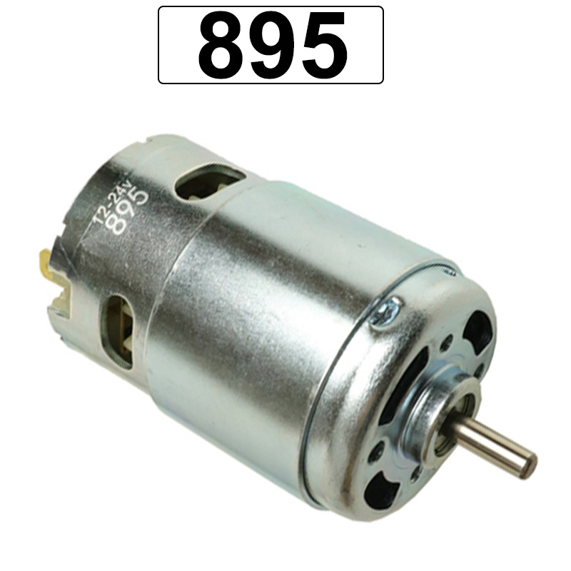 <font><b>895</b></font> High Torque High RPM <font><b>DC</b></font> <font><b>Motors</b></font> 12V 24V 3000/6000/9000/12000/18000RPM Use For Scooter Cutting Machine Electric Grinder <font><b>Motor</b></font> image