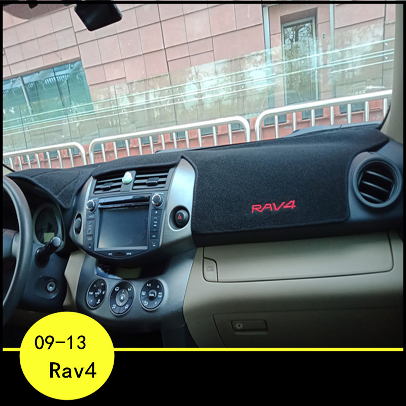 lsrtw2017 polyster car dashboard pad mat for <font><b>toyota</b></font> <font><b>rav4</b></font> 2006 2007 2008 2009 <font><b>2010</b></font> 2011 2012 xa30 anti-reflective carpet image