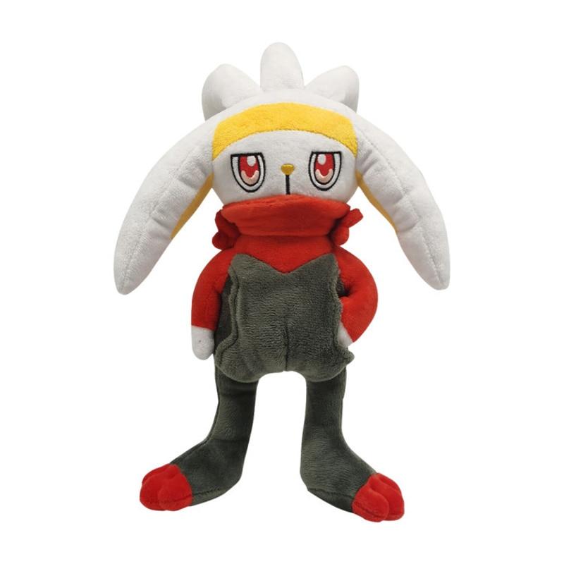 1pcs 28cm TAKARA TOMY Pokemon Scorbunny  Plush Toys Soft Stuffed Animals Toys Doll Gifts for Children Kids 1