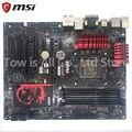 MSI B85-G43 игровая оригинальная материнская плата DDR3 LGA 1150 USB2.0 USB3.0 DVI HDMI VGA 32GB B85 б/у настольная материнская плата