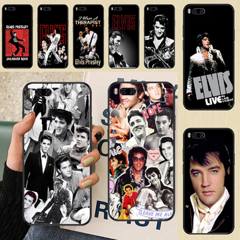 Singer Elvis Presley The King Phone case For Xiaomi Mi Max Note 3 A2 A3 8 9 9T 10 Lite Pro Ultra black silicone back tpu cover image