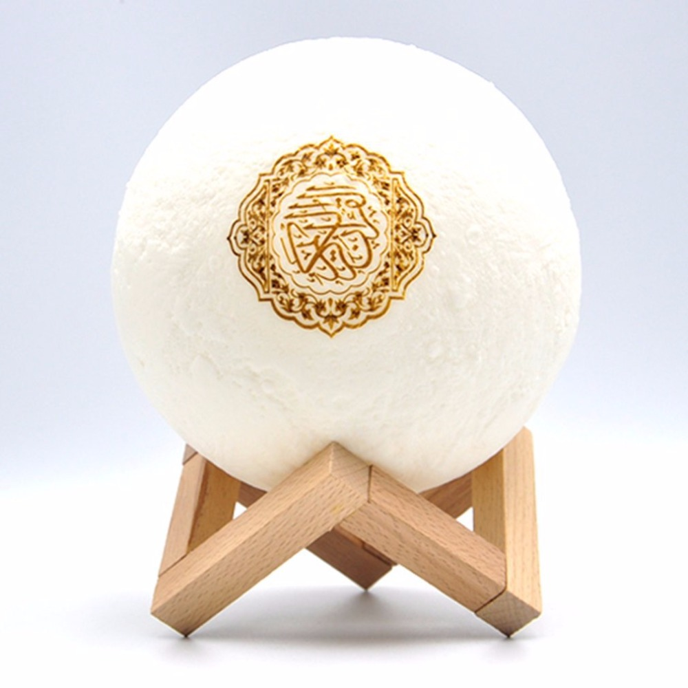 Moon Lamp Moon Light 3D Large Lamps Moon Night Light With Stand Lunar Cool Lamp With Wooden Stand