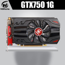 Veineda GTX750 1Gb GDDR5 Grafische Kaart Gaming Desktop Computer Pc Video Grafische Kaarten Ondersteuning Dvi/Hdmi Pci-E X16 3.0