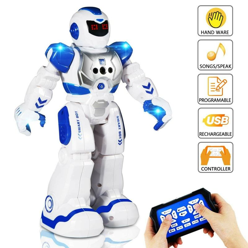 Programmable Intelligent Robot Sing Dance Action Figure Toys Robot For Children Birthday Christmas Gifts Robot 822