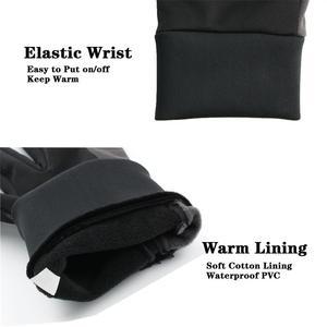 Image 4 - OZERO мужские рабочие перчатки с сенсорным экраном, водительские спортивные зимние уличные теплые ветрозащитные водонепроницаемые перчатки ниже нуля для мужчин и женщин 9002