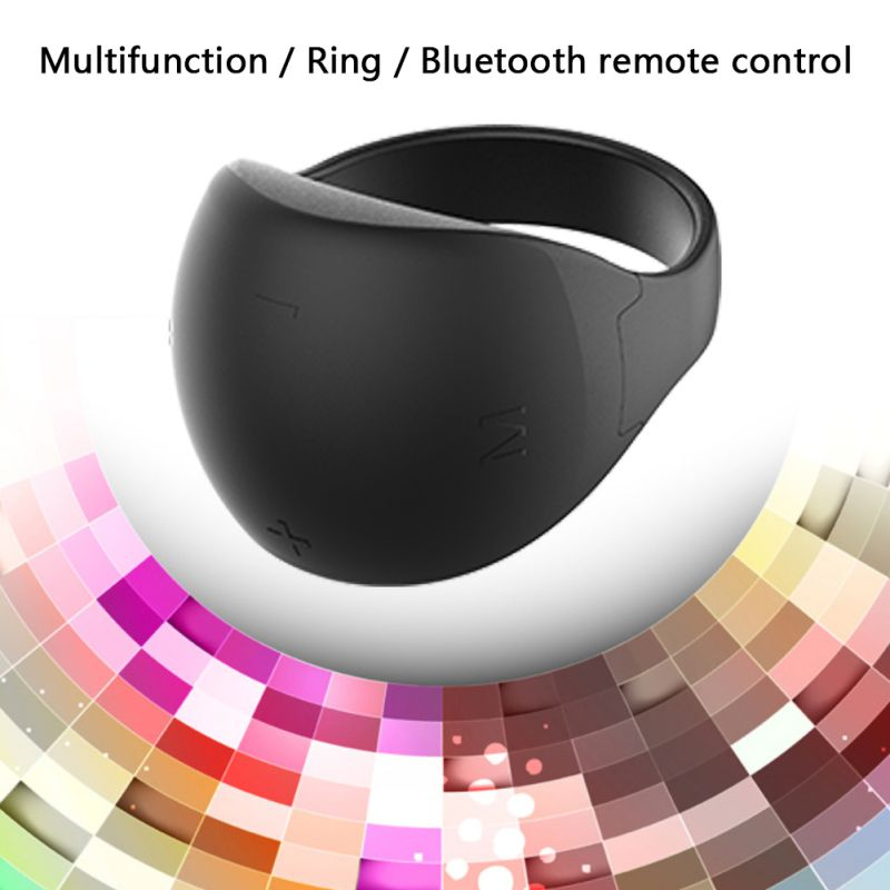 Bluetooth Smart Ring Camera TV Remote Control PPT Page-Turner Mouse Bluetooth5.0 Mobile Phone Remote Finger Ring