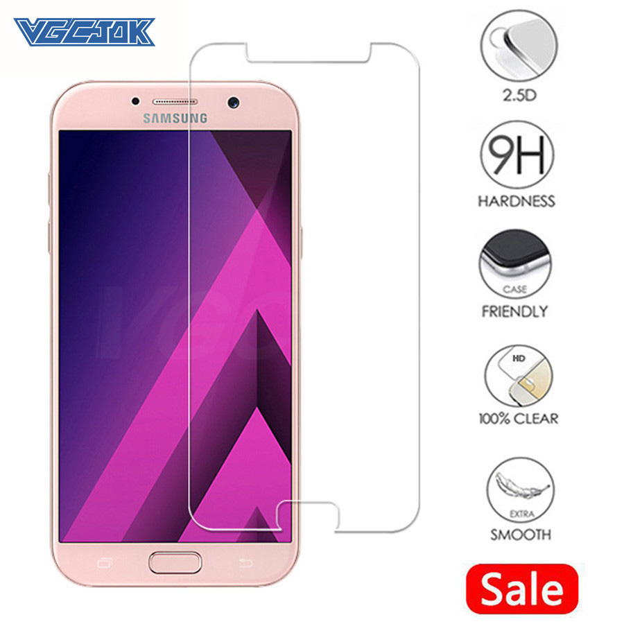 9H Protection Glass On The For Samsung Galaxy A3 A5 A7 J3 J5 J7 2015 2016 2017 2018 Version Tempered Screen Protector Glass Film