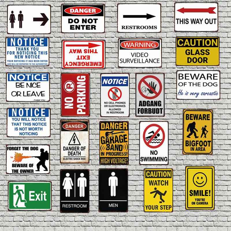 Danger High Voltage Danger Metal Sign Danger Signs Metal Art Prints Custom Sign Warning Sign Metal High Voltage Metal Sign Print