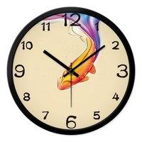 New 2019 Digital Wall Clock Wall Clocks New Chinese Clock Creative Clock of Chinese Style Brocade Carp Mechanical Modern 60zb990