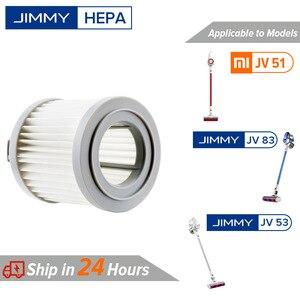 【In Stock】Original Jimmy HEPA Filter for Xiaomi JIMMY JV51 JV53 JV83 Handheld Cordless Vacuum Cleaner HEPA Accessories(China)