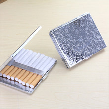 Exquisite Gift Cigarette Box New Metal Case Creative Personality Cover Can Hold 9