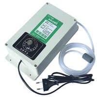 2000 mg/h máquina generador de ozono purificador de esterilizador de agua de aire con temporizador de 60 minutos para alimentos de carne de frutas y verduras