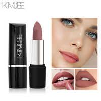 KIMUSE Brand Makeup Lipstick Matte Long Lasting Waterproof Nude Pigment Lipstick Matte Batom Lip Cosmetics 10 Colors Maquillaje