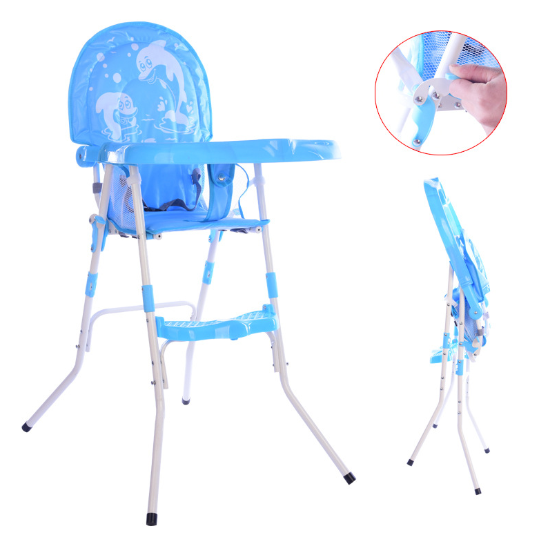 Baby Chairs Folding Multi-function Portable Children Baby Chairs Kids Dining Table Seats Adjustable Foldable Chair For Kid Child