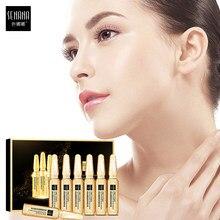 Senana ampola anti-envelhecimento rosto soro ácido hialurónico 24k ouro nicotinamida encolher poros clareamento hidratante essência cuidados com a pele