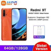 Versione globale Xiaomi Redmi 9T 4GB 64GB /4GB 128GB / 6GB 128GB smartphone Snapdragon 662 48MP fotocamera posteriore 6000mAh Non NFC