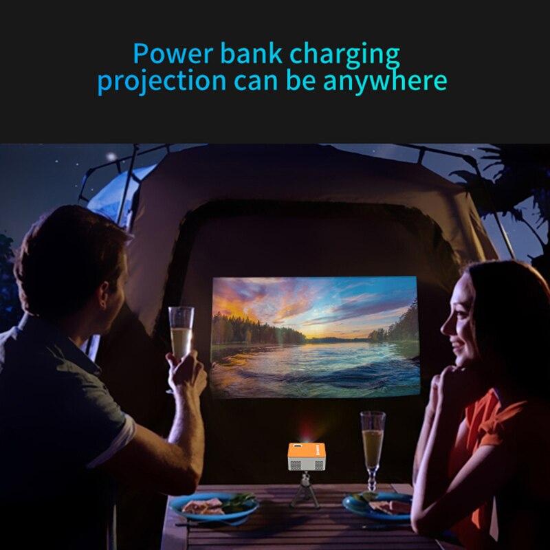 Hd mini uc28d 16.7m projetor de vídeo portátil cinema em casa escritório supplie suporte móvel filme jogo lcd proyector-1