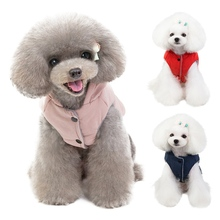 Pet Dog Costume Winter Funny Clothes Warm Coat Jacket Pomeranian Poodle Bichon Frise Puppy Hoopet Clothing Apparel