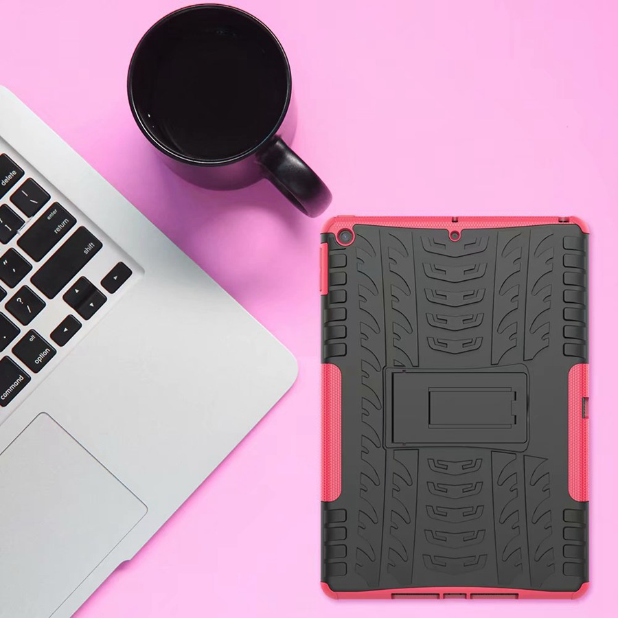 for Apple Armor-Case Film--Pen TPU 7th/A2200/A2198 Rugged PC TPU Cover iPad Shockproof