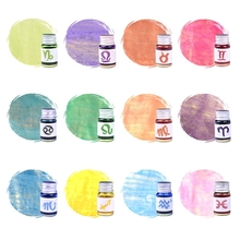5ml Gold Powder Colorful Fountain Pen Ink Non-carbon Refilling Inks Student Stationery School Office Supplies