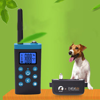 PaiPaitek PD525 1000m Remote Distance Electric Dog Training Collar Waterproof Rechargeable Remote Control Dog Training Collar