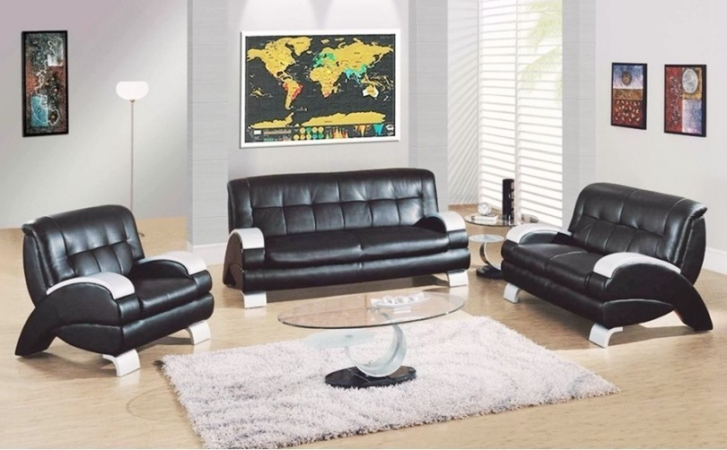 1Piece Deluxe Black Scratch Off World Map 82.5 X 59.4cm As Room Decoration Wall Stickers 2