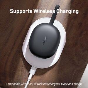 Baseus W05 TWS Bluetooth Kopfhörer Drahtlose 5,0 Kopfhörer IP55 Wasserdichte HD Stereo Ohrhörer Unterstützung Qi Drahtlose Aufladen