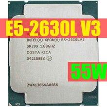 E5 2630LV3 המקורי Intel Xeon OEM גרסה E5 2630LV3 מעבד 8 ליבות 1.80GHZ 20MB 22nm LGA2011 3 E5 2630L v3 מעבד LGA2011 3